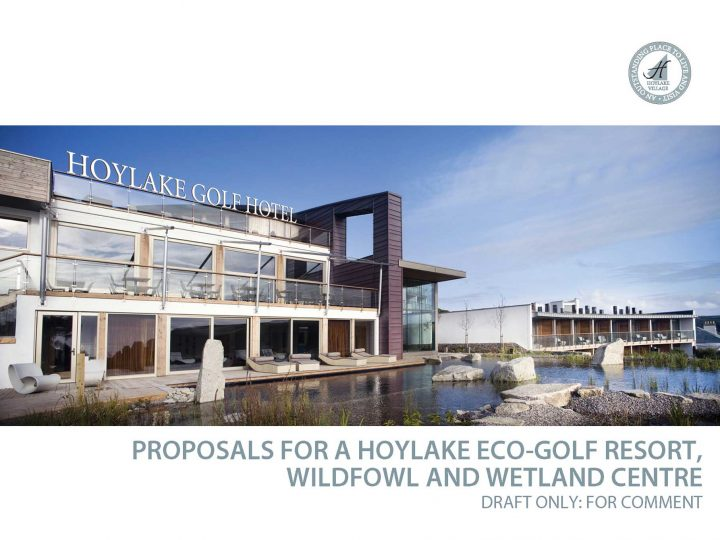 Hoylake Village Life present 'alternative' Eco-golf resort, Wildfowl and Wetland proposals