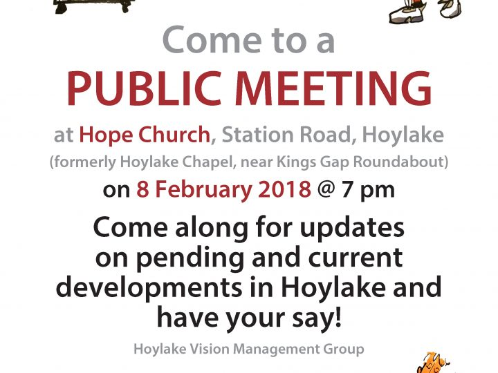 Meeting on 8th February 2018